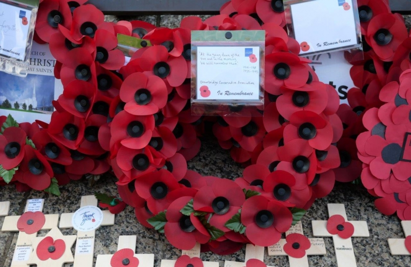 Stourbridge Association Wreath
